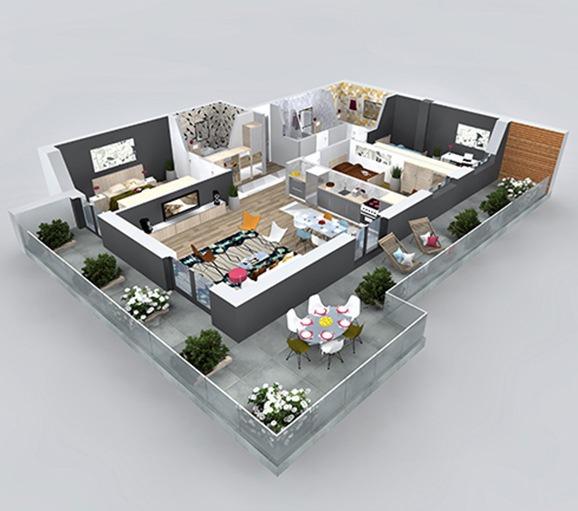 vanzare apartamente 4 camere penthouse cluj