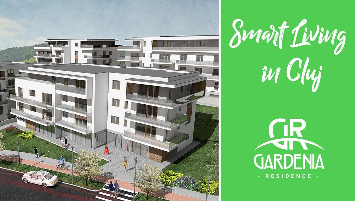 Gardenia  Residence, proiectul imobiliar construit pe principiul Smart Living in Cluj!