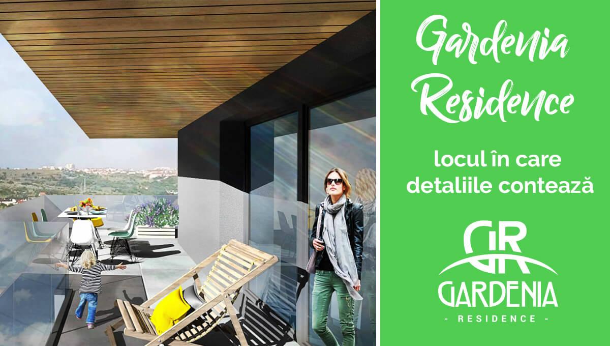 Gardenia Residence: locul in care detaliile conteaza!