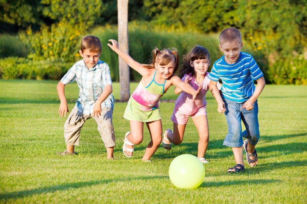 Copii la joaca Borhanci